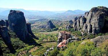 One of the Monasteries in Meteora, Greece. Wikimedia Commons:Giac83