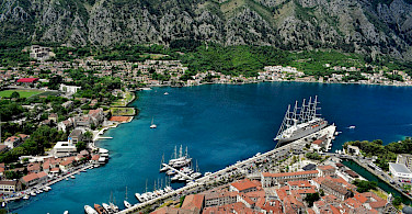 View from the fortress of the Bay of Kotor in Montenegro. Flickr:Jocelyn Erskine-Kellie