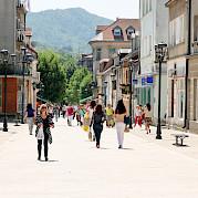 Aventuras de bicicleta em Montenegro, Macedônia e Albânia Foto