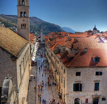 Old Town in Dubrovnik, Dalmatian Coast, Croatia. Flickr:Michael Caven