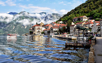 Morning mist on the Bay of Kotor in Montenegro. Flickr:Jocelyn Erskine-Kellie