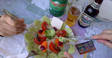 Great food in Ohrid, Macedonia. Flickr:Antti T Nissinen