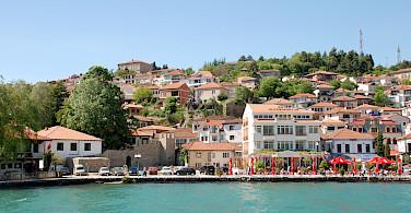 Lakeside resort town of Ohrid, Macedonia. Flickr:Xiquinho Silva