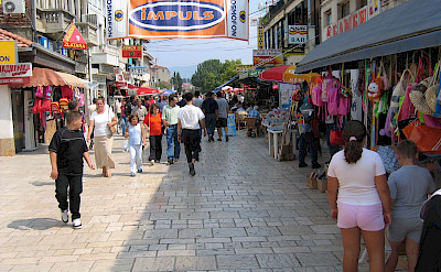 Shopping in Ohrid, Macedonia. Flickr:Steffen Emrich