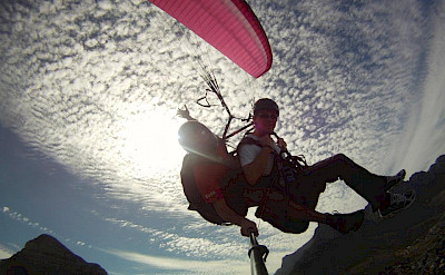 Paragliding adventures in Macedonia.