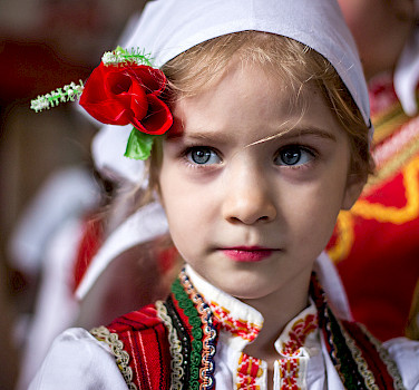 Traditional girl in Struga on Lake Ohrid, Macedonia. Photo via Flickr:Marjan Lazarevski