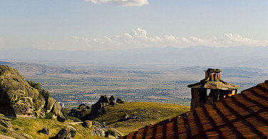 View from Treskavec Monastery, Prilep, Macedonia. Photo via Wikimedia Commons:Geoff