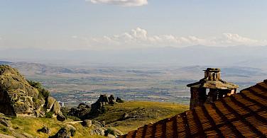 View from Treskavec Monastery, Prilep, Macedonia. Photo via Wikimedia Commons:Geoff