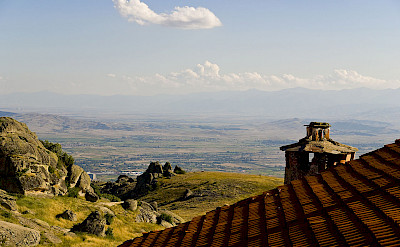 View from Treskavec Monastery, Prilep, Macedonia. Wikimedia Commons:Geoff