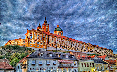 Abbey in Melk, Austria. Flickr:r chelseth
