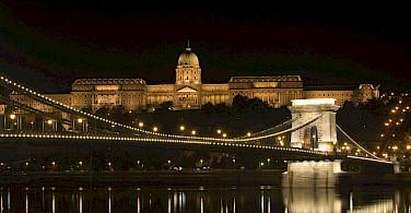 Kettenbreuke in Budapest, Hungary along the Danube River bike tour. Photo courtesy of Radundreisen-Eurocycle