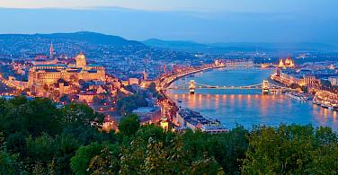 Budapest, Hungary along the Danube River bike tour. Photo via Flickr:Moyan Brenn