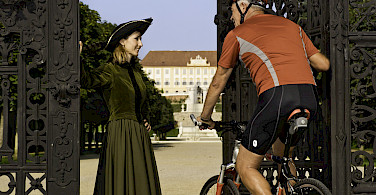 Festschloss Hof welcomes you in Austria along the Danube River bike tour. Photo courtesy of Radundreisen-Eurocycle