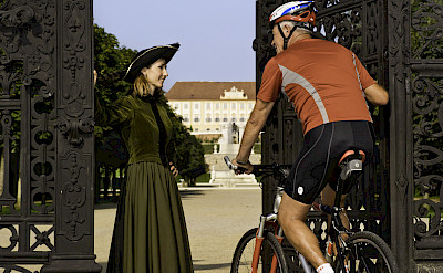 Festschloss Hof welcomes you in Austria along the Danube River bike tour. ©TO