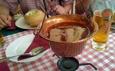 Lunch in Bratislava, Slovakia. Flickr:Aapo Haapanen