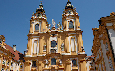 Abbey in Melk, Austria. Flickr:Nigel Swales