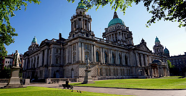 City Hall in Belfast, capital of Northern Ireland, United Kingdom. Photo courtesy of Tour Operator.