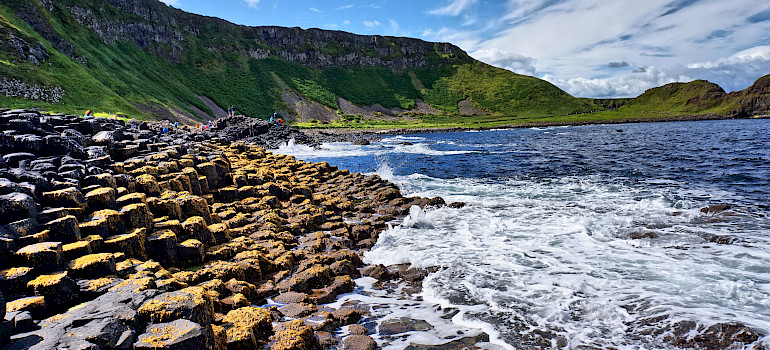 Giant's Causeway, County Antrim, Northern Ireland. Photo courtesy of Tour Operator.