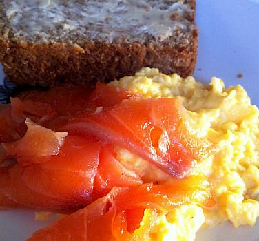 The Irish love their salmon and soda bread. Photo via Flickr:Jeremy Keith