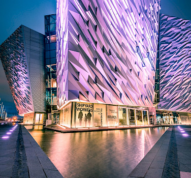 Titanic Museum in Belfast, Northern Ireland. Flickr:Giuseppe Milo