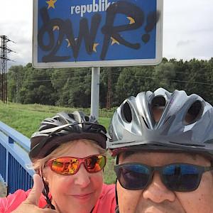Eu Border Sign Slovakia