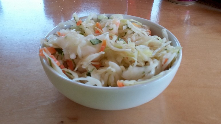 Wonderful cole slaw