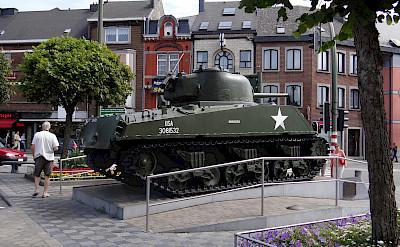 Lots of WWII history in Bastogne, Belgium. Flickr:Esther Westerveld