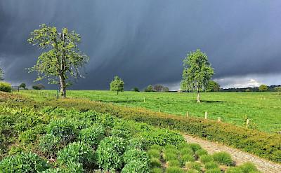 Storm brewing in Epen, South Limburg, the Netherlands. Flickr:Frans Berkelaar