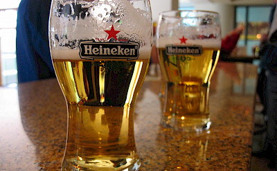 Heineken in Holland, of course! Flickr:Samikeinanen