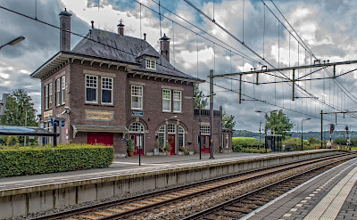 Train station in Limburg, the Netherlands. Flickr:Frans Berkelaar