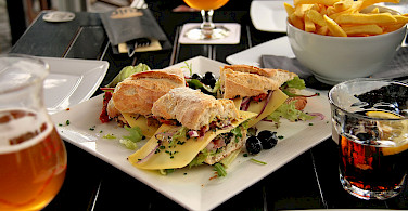 Lunch at Cafe Zuid, Maastricht, the Netherlands. Photo via Flickr:Jorge Franganillo