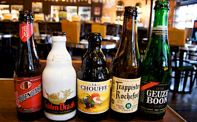 Beer tasting in Maastricht, Limburg, the Netherlands. Flickr:Obbt