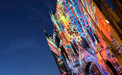 Cathedral in Metz, France. Flickr:Claudia Schillinger