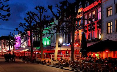 Vrijthof, the main square in Maastricht, Limburg, the Netherlands. Flickr:Jorge Franganillo