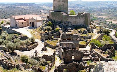 Castle ruins in Marialva, Portugal. Flickr:Pedro