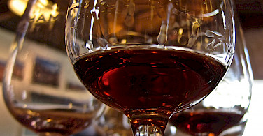 Port wine in Porto, Portugal of course! Photo via Flickr:Su-May
