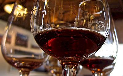 Port wine in Porto, Portugal of course! Flickr:Su-May