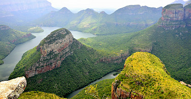 Blyde River Canyon Dam, Mpumalanga, South Africa. Photo via Flickr:South African Tourism