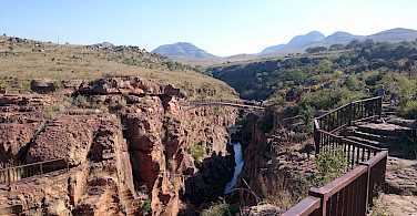 Bourke's Luck Potholes, South Africa. Photo courtesy of our local partner, Panorama Pedals