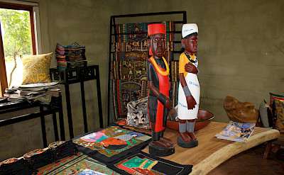 Kaross embroidery for sale, South Africa. Photo via TO