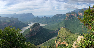 Blyde River Canyon Dam, Mpumalanga, South Africa. Photo courtesy of our local partner, Panorama Pedals