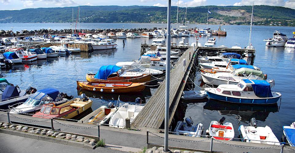 Harbor in Drøbak, Oslofjord, Norway. Photo via Flickr:Frogn kommune
