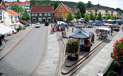 Drøbak on the Oslofjord in Norway. Photo via Flickr:Frogn kommune