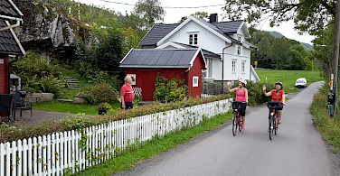 Cycling the Oslofjord Bike Tour. Photo courtesy of Merlot Reiser