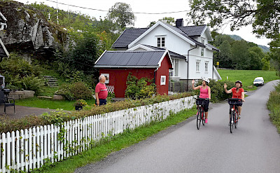 Cycling the Oslofjord Bike Tour. Photo courtesy of Merlot Reiser