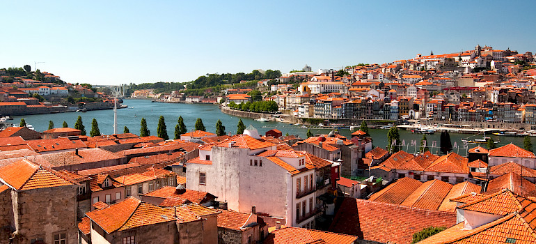 Duoro River in Porto, Portugal. Photo via Flickr:Alex Ristea