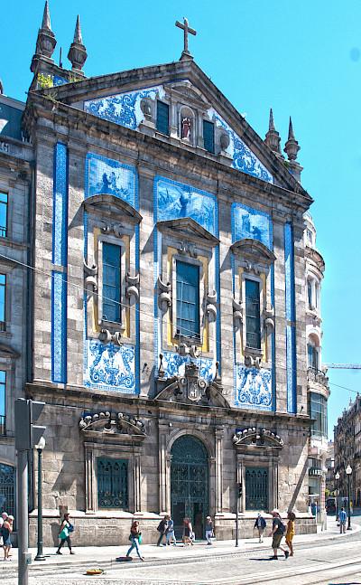 Gorgeous tiled buildings in Porto, Portugal. Flickr:Berit Watkin