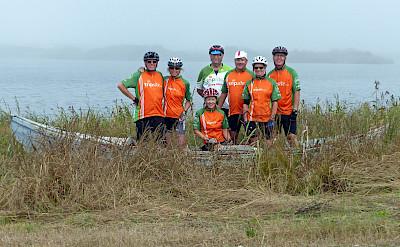 Group photo en route. Photo via TO