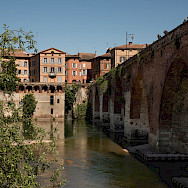 Albi on the Tarn River in France. Photo via Flickr:Alain B