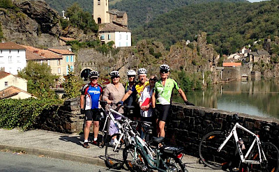 Cycling Magnolias in and around Plaisance, Aveyron, France. Photo via TO.